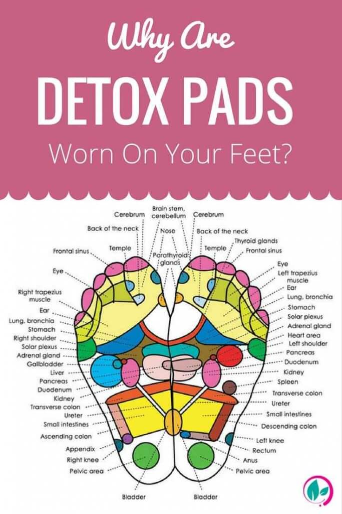 Detox Foot Pads At Home To Cleanse