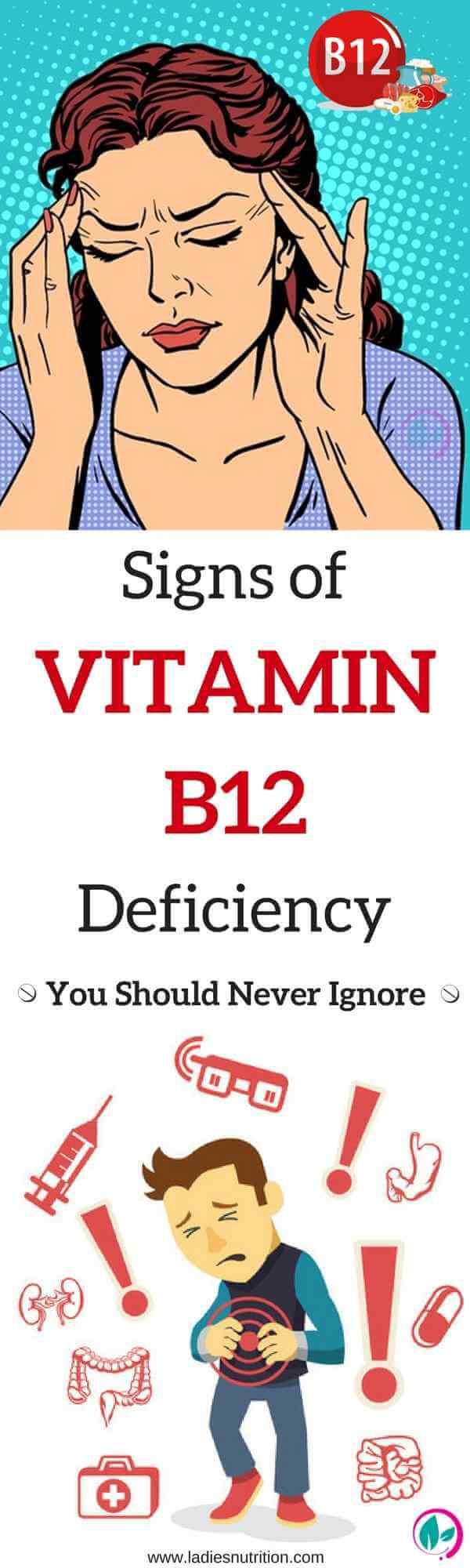 Vitamin B12 Deficiency Symptoms that Everyone Ignores B12 Deficiency Symptoms
